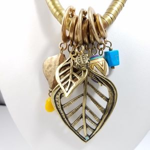 Chico's Jewelry - Chico's Pendant Charms Long Southwestern Necklace